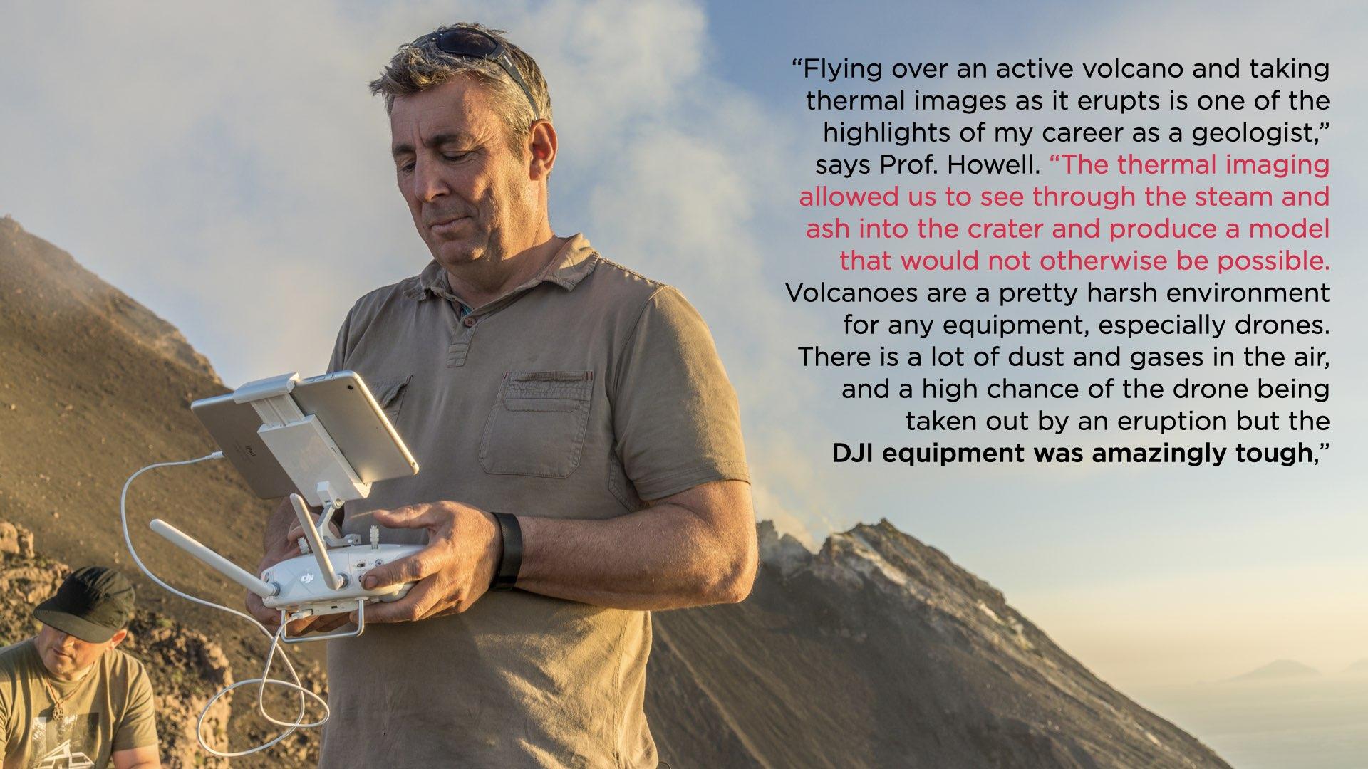 Professor Howell En Drones